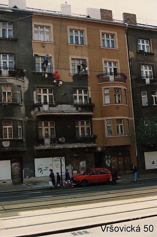 Nátěr fasády Vršovická