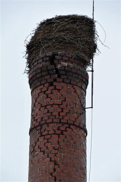 Oprava komínu v Dolní Lukavici
