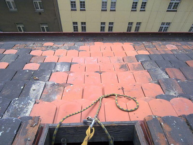 Oprava taškové střechy