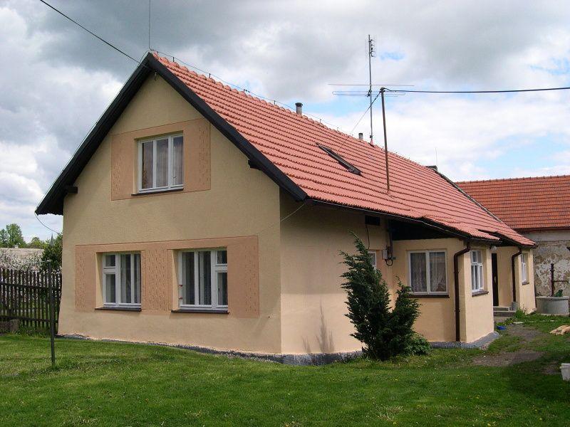 Vranovice - malý domek rekonstrukcí výrazně ožil