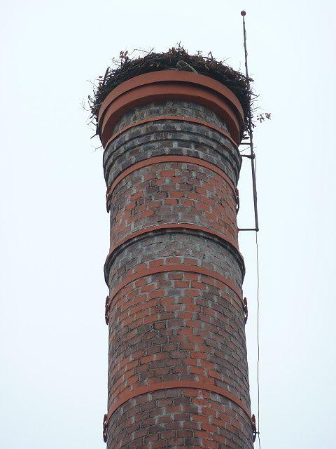 Komín v Dolní Lukavici po opravě
