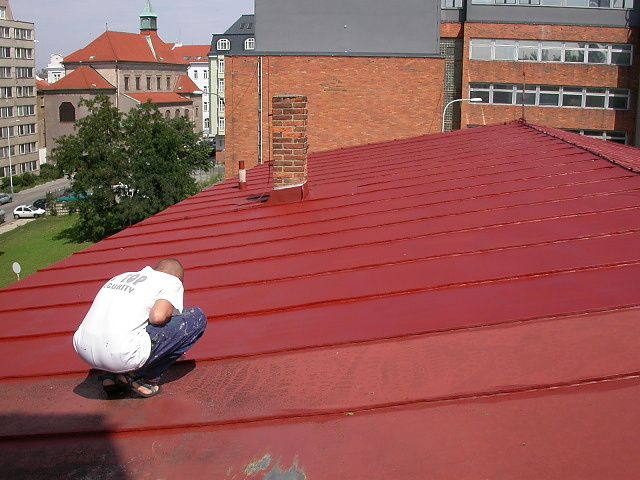 Nátěry střech jsou jednou z našich nejčastěji prováděných prací