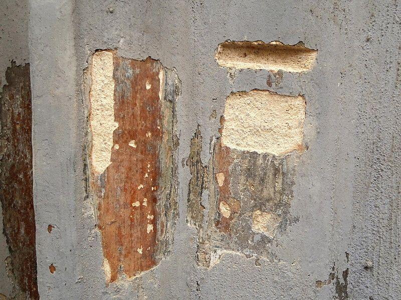 Barevná stratigrafie pro získání povolení od Památkářů