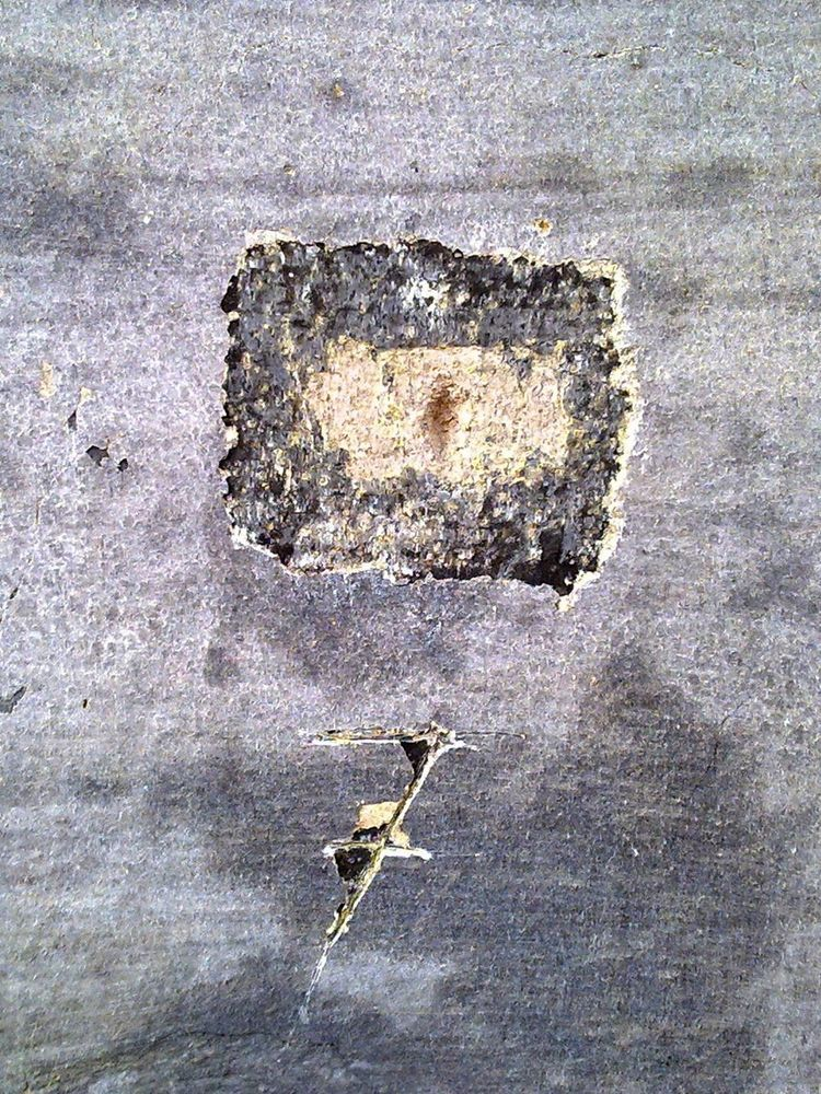 Barevná stratigrafie, průzkum fasády